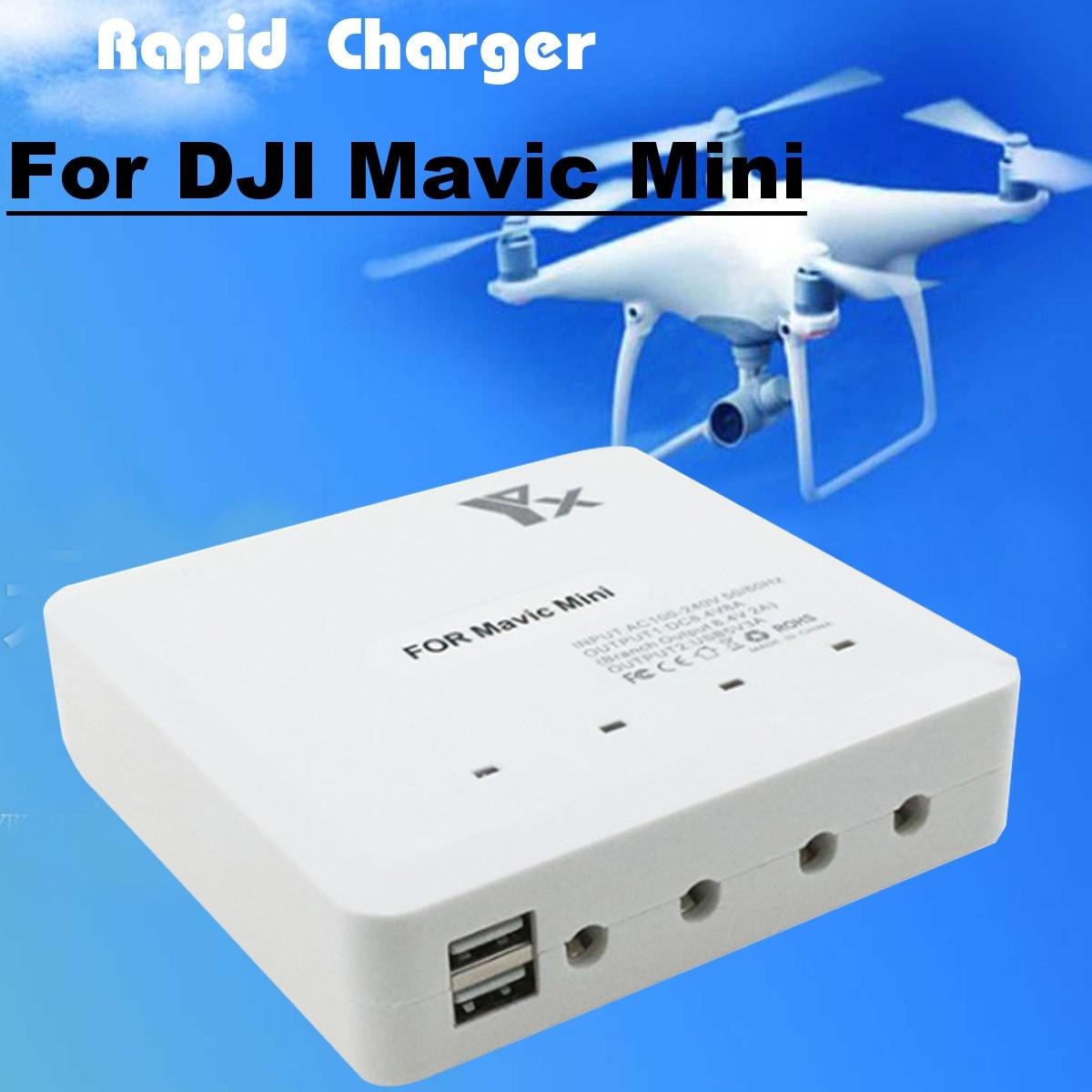 6-IN-1 Rapid Multi Battery Charger Remote Controller Balance Charger Mavic Mini Accessories For DJI Mavic Mini Battery