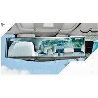 Espelho retrovisor interior grande campo de visão espelho interior do carro modificado grande angular espelho plano
