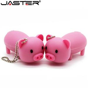Image 2 - Usb флеш накопитель JASTER lovely pig, 4 ГБ, 16 ГБ, 32 ГБ, 64 ГБ, usb 2,0