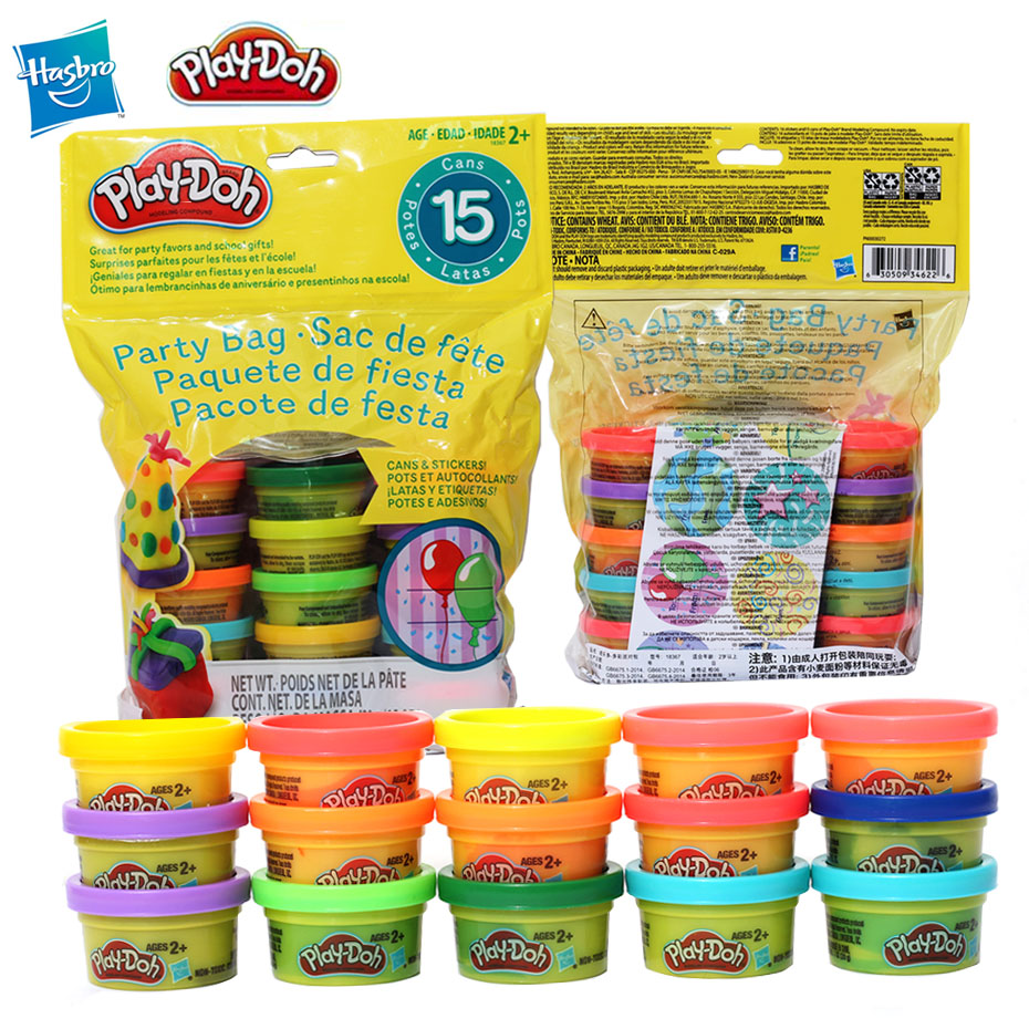 Hasbro Play-Doh Pack Rainbow Non-toxic Modeling Compound Educational Toys Light Soft Modeling Clay DIY Parent-child Handmade Toy