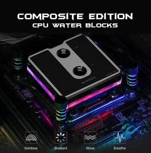 Image 2 - Barrow LTCP03A 04N, Per Ryzen AM3/AM4 Composito CPU Blocchi di Acqua, vestiti da POM/barss Top Opzionale, LRC 2.0 5v 3pin, Microwaterway Blocco