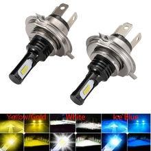 2 Stuks Led Mistlampen 12V Lampen Voor Auto H1 Led H8 H11 H19 H16 9006 HB4 9005 HB3 h7 Led H4 Auto Running Lamp 6000K Auto Koplamp
