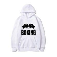 Весна и осень с капюшоном бокс напечатано топ-2020 повседневная мягкие спортивные сплошной цвет балахон толстовки