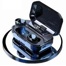 цена на TWS 5.0 Bluetooth Earphones headphone 9D Stereo Wireless Earphones Sports Earbuds HiFi Bass Stereo Headsets with Charging Box