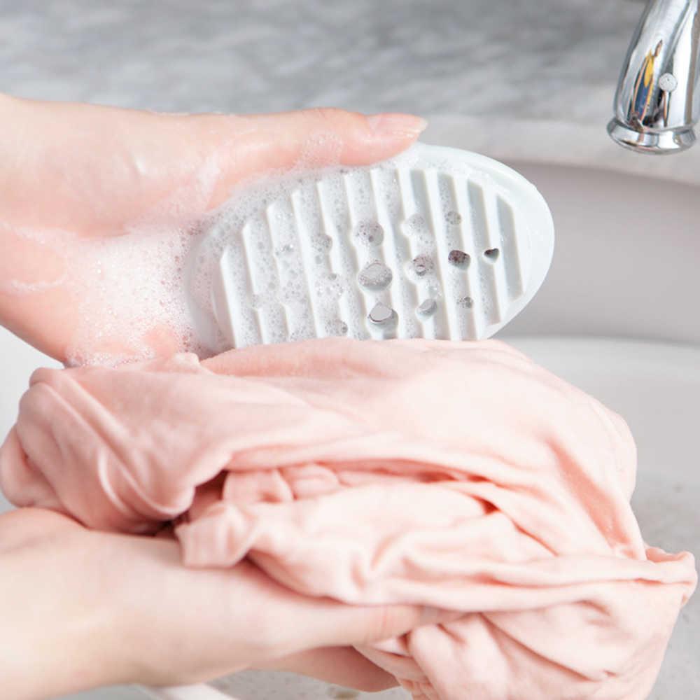 2019 Полезная новая силиконовая мыльница, кухонный держатель для туалетного мыла, сливная щетка для белья, мыльница для ванной комнаты, кухонное приспособление для хранения
