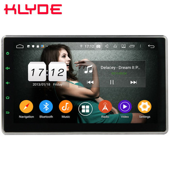"Klyde 10.1"" IPS 4G WIFI Android 9.0 Octa Core 4GB RAM 64GB ROM DSP Car DVD Player Stereo GPS Glonass For Nissan Hyundai Toyota"