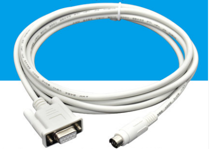 Tool Parts 9.8Ft 8P Mini Din to RS422 PLC Programming Cable for Delta DVP//EasyView MT6070