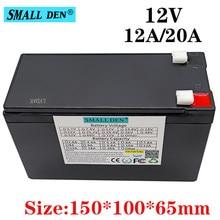 12v 12ah 20ah 18650 bateria de lítio built-in 10a 20a pulverizador, câmera de vigilância bateria, bateria solar de energia de backup