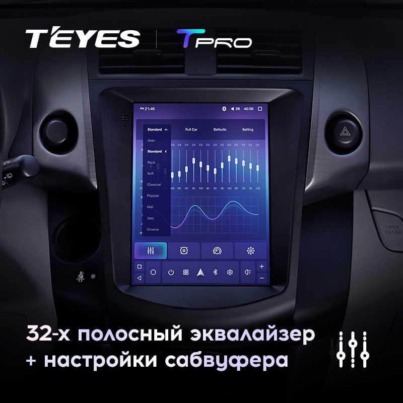 Teyes tpro トヨタ RAV4 3 XA30 テスラスタイルスクリーン 2005 2013 車ラジオマルチメディアビデオプレーヤーナビゲーション gps アンドロイド 8.1