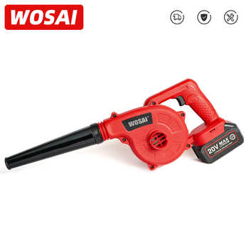 WOSAI 20V Garden Cordless Blower Vacuum Clean Air Blower for Dust Blowing Dust Computer Collector Hand Operat Power Tool