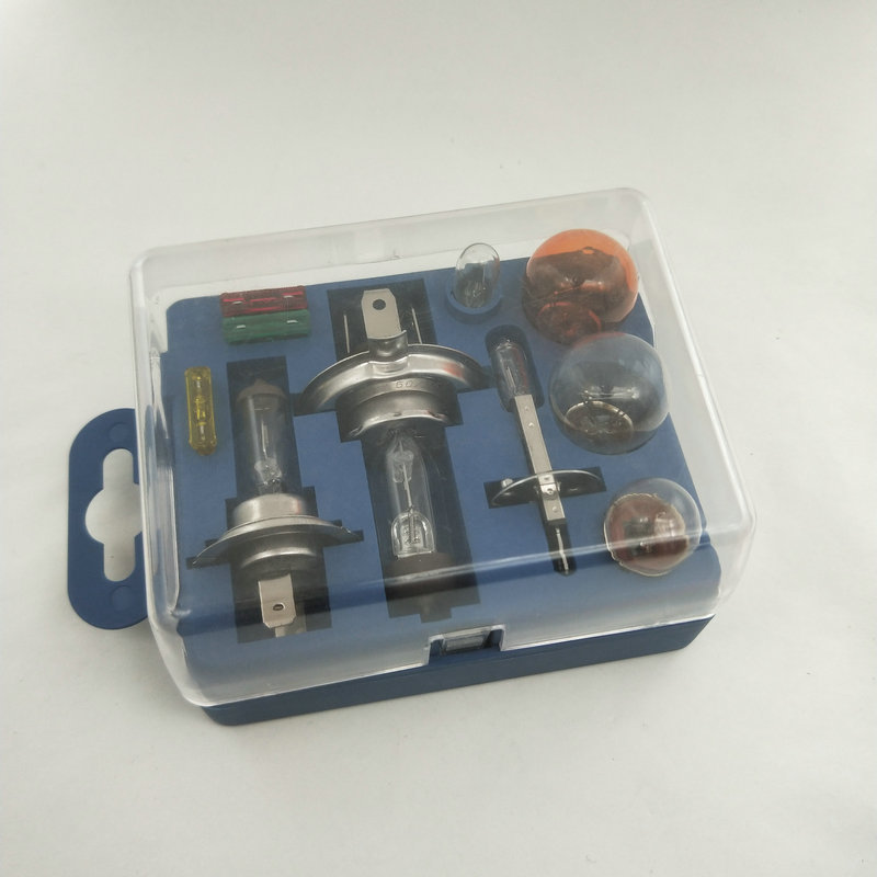 Universal Van Car Emergency Light Bulb Spare Fuse 5,10,15 AMP Replacement Kit