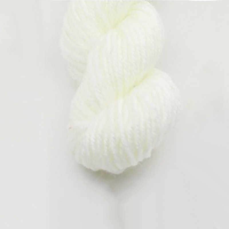 25G/Sfera Pettinato Morbido Del Bambino Lane e Filati Velluto Lane e Filati A mano di Lana lavorato a maglia Crochet Lane e Filati Tessuti A mano Sciarpa maglione Sciarpa di Colore Solido
