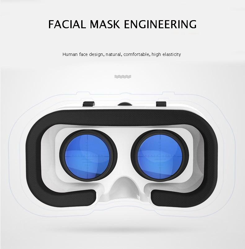 VR SHINECON BOX 5 Mini VR Glasses 3D Glasses Virtual Reality Glasses VR Headset For Google cardboard Smartp 2