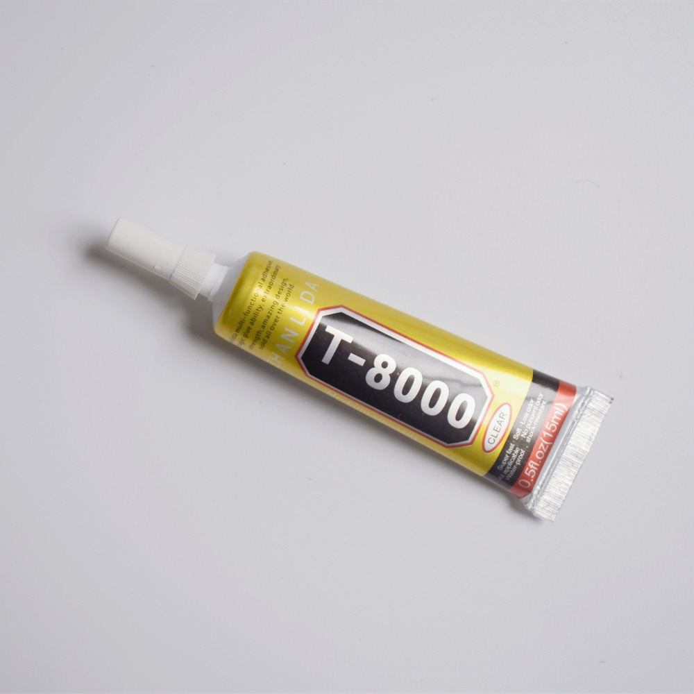 1 Pcs 15ml T8000 MultiPurpose Glue Clear Glue Adhesive Epoxy Resin For Cell Phone LCD Touch Screen Frame Super Glue T-8000