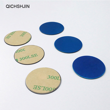 цена на Metal Plate Disk Iron Sheet Magnet Car Mobile Phone Holder Metal Iron Plate For iPhone Samsung Magnetic Car Phone Holder Sticker