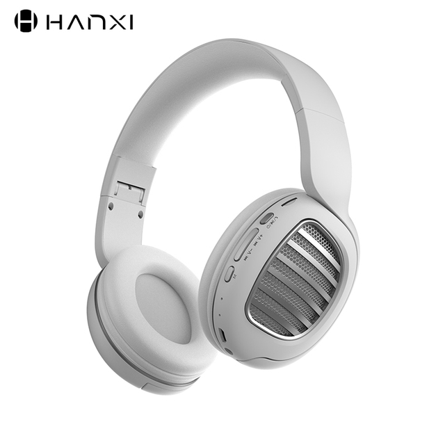 BT031 Newest Design Bluetooth 5.0 Headphone Setereo Arround Softly Fold Bluetooth Headset With FM 3.5mm Jack TF card