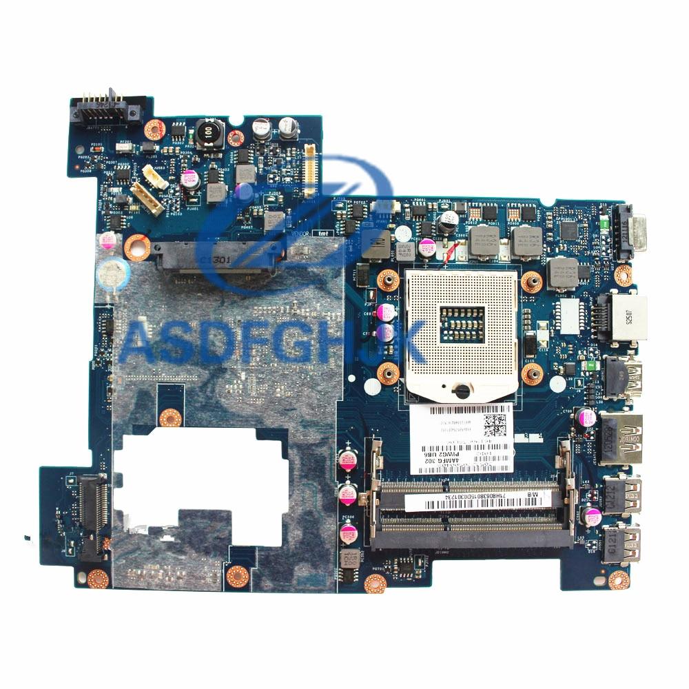 Оригинальная материнская плата для lenovo G570 PIWG2 LA-675AP LA-675 HM65 S989 DDR3 Материнская плата 100% ТЕСТ ОК
