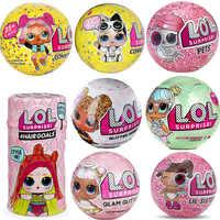 Sorpresa muñecas LOLS cambio de Color huevo confeti serie Pop vestido muñeca bola mágica figura de acción niños juguetes para niños Navidad