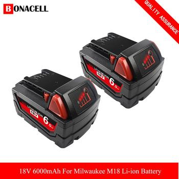 18V for Milwaukee replacement battery Li-ion 48-11-1820 48-11-1850 48-11-1860 48-11-1828 48-11-10 batterie