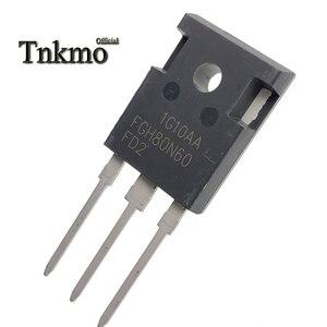 Image 5 - 5 個 FGH80N60FD2TU FGH80N60FD2 FGH80N60 に TO 247AB 247 N CHANNEL チューブパワー igbt トランジスタ 80A 600 v 無料配信