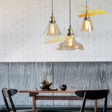 Modern Creative Cognac Color LED Glass Pendant Lamp Lighting Nordic Minimalist Pendant Lights Restaurant Hotel Loft Hanging Lamp fumat stained glass pendant lamp antique style baroque glass body flower shade restaurant suspension lampe hotel project lights