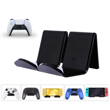2Pcs Video Game Controller Hanging Stand Holder Wall Mount Display Rack Headset Bracket for PS5 PS4 Xbox Series One Accesorios