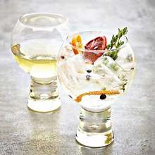 Nordic Style Cocktail Glass Tempered Lead-free Glass Heat-resistant Juice Cup Drink Cup Creative Bubble Water Cup Beer Glass