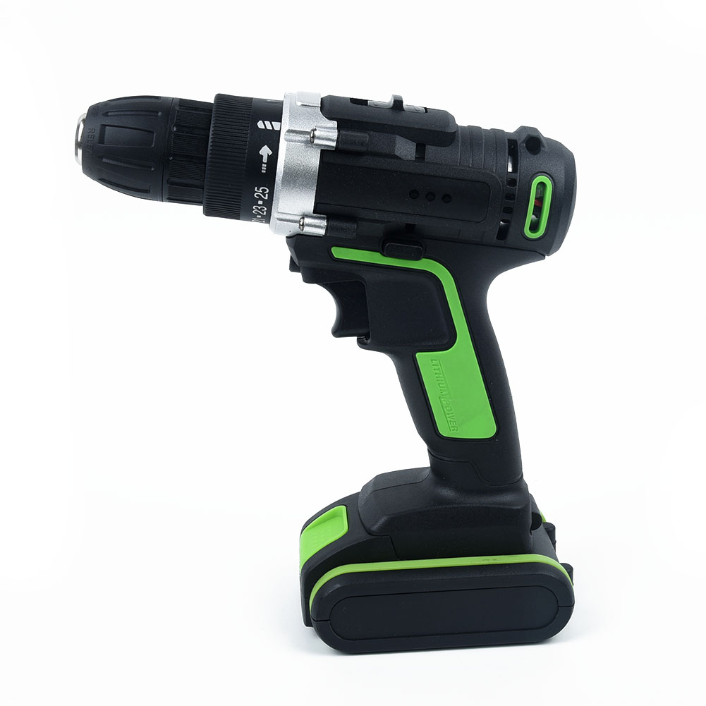 Set 48V 2 Speed Tool Li Ion <font><b>Battery</b></font> Rechargeable Cordless Brushless Hammer Impact <font><b>Drill</b></font> <font><b>Driver</b></font> Electric Wrench image