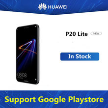 "Versi Global Huawei P20 Lite ANE-LX1 Ponsel Android 8.0 5.85 ""FHD 4GB RAM 64GB ROM 24.0MP sidik Jari Face ID NFC(China)"