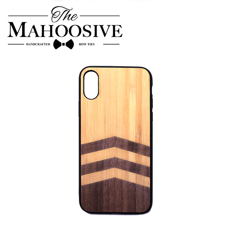 Simple Pilot Design Wood Phone Case For Iphone 11 Case Pro Max Xr Xs 6s 8 7 Plus Shockproof Soft Tpu Matt Wooden Phone Cover
