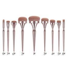 Отдельные Кисточки для макияжа теней для век бровей губ Pinceis Smudge Веерная Кисть Косметические кисти для макияжа инструменты