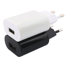 New EU plug Adapter 5V 2A USB Wall Charger Mobile phone charger for Galaxy s9 s10 mobile Cable AC Adaptor
