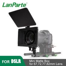 Lanparte 15 мм 4*565 мини Матовая коробка dslr Объектив камеры