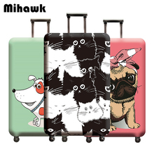 Mihawk Animals Pattern Design Luggage Protective Cover Carto