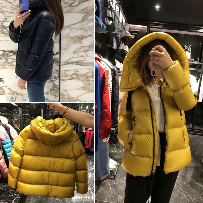 Duck Down Jacket Woman Hooded Winter Coat Women Korean Thick Warm Puffer Jacket Parka Chamarras De Mujer JD-1818 KJ2697