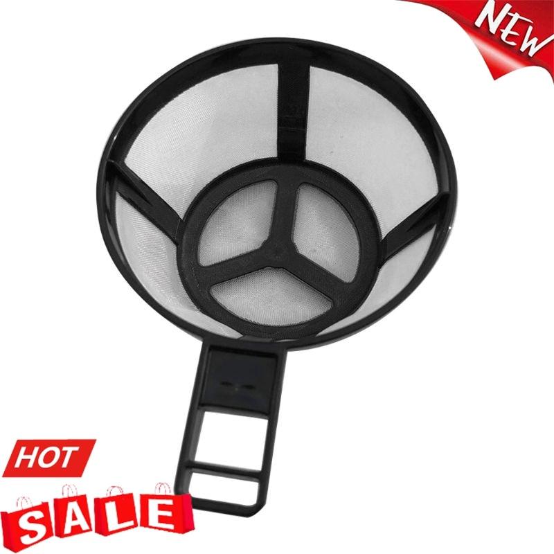 Reusable Coffee Pot Filter Holder Dripper Mesh Basket with Handle Kitchen Gadget