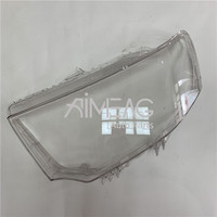 Made for MITSUBISHI imported Pajero original headlight lampshade front and near lighting shade lens cover