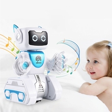 Robotic Programmable Intelligent Gift Child Learning-Toy Action-Figure Remote-Control