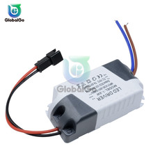 3X1W 3*1W Electronic LED Strip Driver Transformer Simple AC Adapter 85V-265V to DC 3V-14V 300mA Power Supply 1W-3W