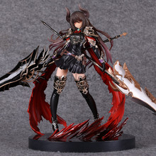 28CM Anime Game Figurine Rage of Bahamut GENESIS quality Action Figure Devil Dark Dragon Knight Anime Game Figurine PVC Model Co free shipping kotobukiya rage of bahamut dark angel olivia ani statue sexy pvc action figure collectible toy 29cm no box