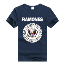 The Ramones T Shirt Rock Band T-shirt Men man Clothing Short Sleeve Tee Summer N Roll Punk