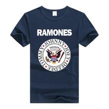 The Ramones T Shirt Rock Band T-shirt Men man Clothing Short Sleeve Tee Summer Rock N Roll Punk