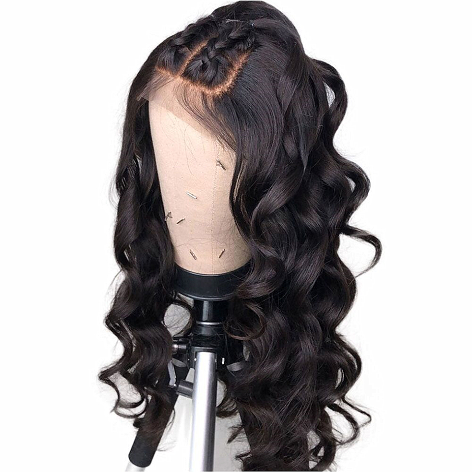 Lace Frontal Human Hair Wigs 150 Density Lace Frontal Wigs Preplucked Natural Hairline Bleached Knots 13x6 Deep Part Wig Remy
