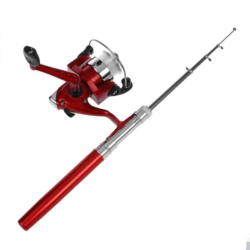 Telescopic Fishing Rod Pen Shape portable 1M + Reel Spool Thread starter