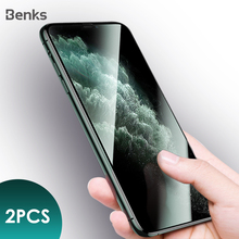Benks 2pc KingKong Glass AGC Tempered Glass For iPhone 11 Pro MAX XR X XS Protective 3D Curved Edge 9H Explosion proof XPRO Film