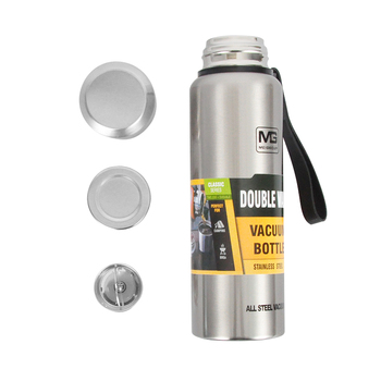 500/750/1000/1500ml Russian Outdoor Thermos Bottle Portable Large Capacity Insulated Cup Military Style Vacuum Flask 4