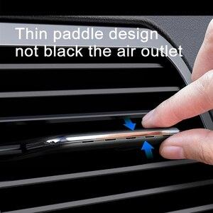 Image 2 - Baseus سيارة معطّر الهواء المعطر للسيارات السيارات الهواء تنفيس العطور مكيف الهواء كليب الناشر الروائح العطور الصلبة