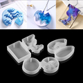 Splice Island Mountains Epoxy Resin Silicone Molds Dried Flower Epoxy Resin Mould Decorative For DIY Pendant Jewelry Making
