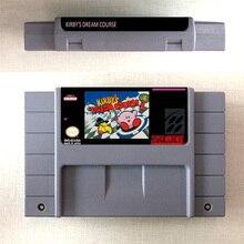 Kirbys Dream Course карта для игры, ролевая игра, версия для США, английский язык, экономия батареи
