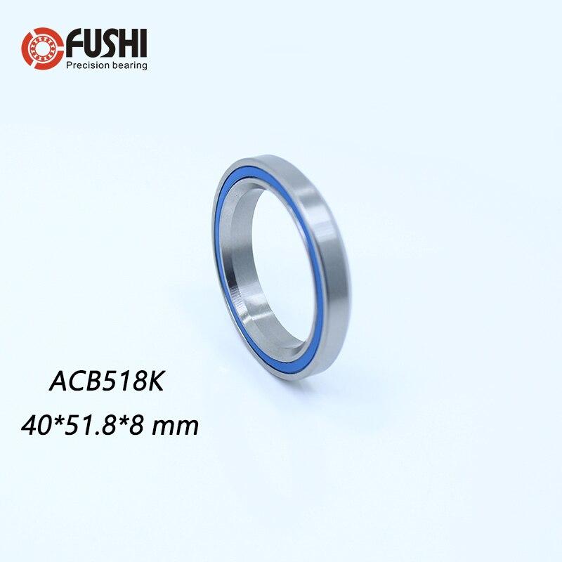 ACB518K Bearing 40*51.8*8mm 36/45 ( 1 PC ) 1-1/2 Inch Bicycle Headset Repair Parts Ball Bearings